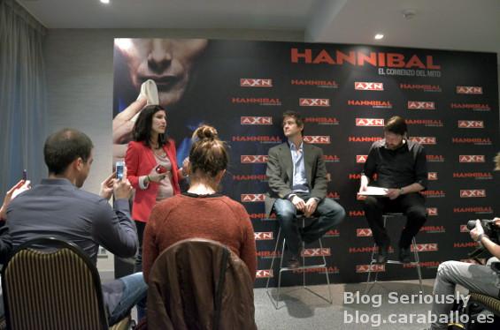 AXN presenta a Hugh Dancy en el Birraseries de promoción de Hannibal