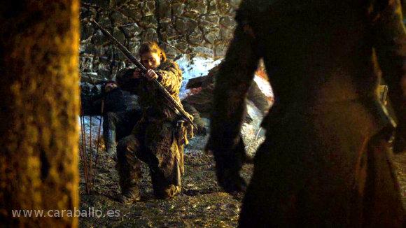 Juego de Tronos 4x09. «Los vigilantes del Muro». Ygritte encuentra a Jon Nieve