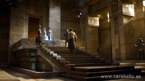 Juego de Tronos - La Montaña y la Víbora. Jorah Mormont debe rendir cuentas ante su Khaleesi