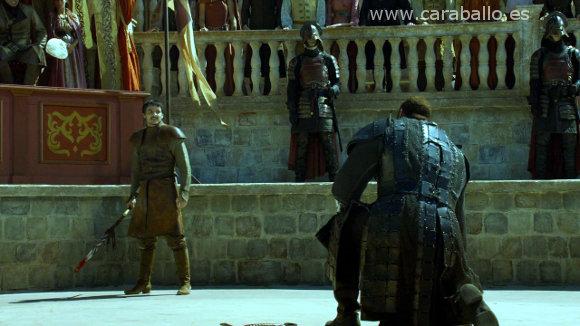 Juego de Tronos - La Montaña y la Víbora. Oberyn Martell: «¡La violaste! ¡La asesinaste! ¡Mataste a sus hijos!»