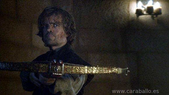 Juego de Tronos, Season 4 Finale. Tyrion «Di de nuevo esa palabra...»
