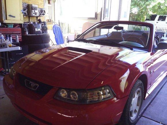Nuestro Mustang del 99 :-)