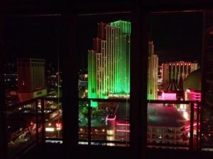 Vista desde nuestro piso de Reno en el Montage