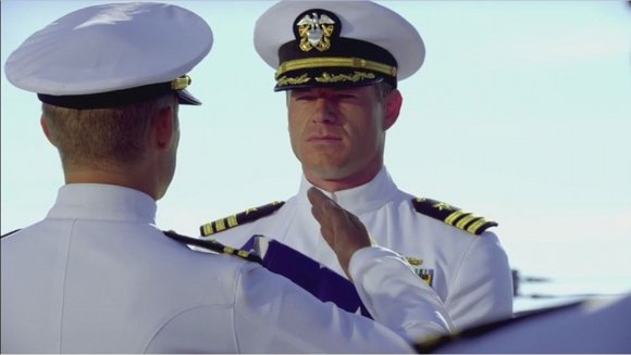 The Last Ship - Eric Dane interpreta al capitán Tom Chandler