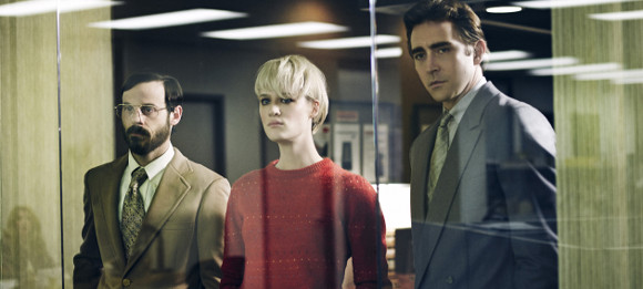 Los protagonistas de Halt and Catch Fire del canal AMC