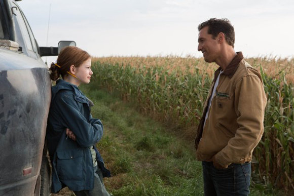 Interstellar - Matthew McConaughey y Mackenzie Foy