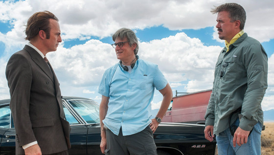 Better Call Saul - Bob Odenkirk, Peter Gould y Vince Gilligan