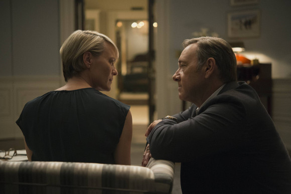 House of Cards T3 - Claire y Frank Underwood
