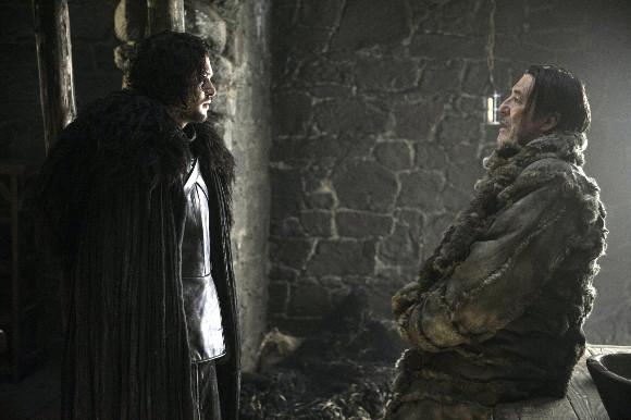 Juego de Tronos - Las Guerras Venideras. Jon Nieve y Mance Rayder