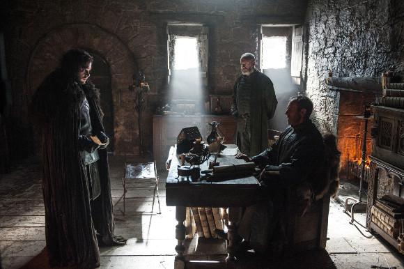 Juego de Tronos - Jon Nieve y Stannis Baratheon