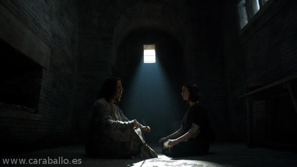 Juego de Tronos. Casa Austera. Arya sigue con su aprendizaje con Jaqen H'ghar