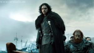 Juego de Tronos. Casa Austera. Jon y Tormund llegan a Casa Austera