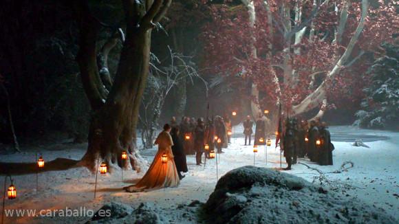 Juego de Tronos. Casa Austera. Sansa se casa con Ramsay Bolton