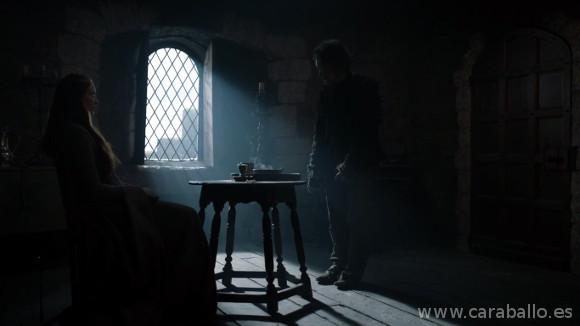 Juego de Tronos. Casa Austera. Sansa y Theon