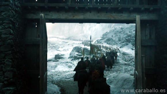 Juego de Tronos. Casa Austera. Stannis marcha hacia Invernalia