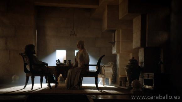 Juego de Tronos. Casa Austera. Tyrion se encuentra con Daenerys
