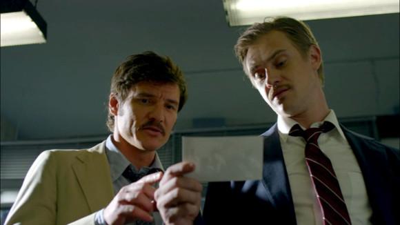 Narcos - Javier Peña (Pedro Pascal) y Steve Murphy (Boyd Holbrook) encarnan a dos agentes de la DEA