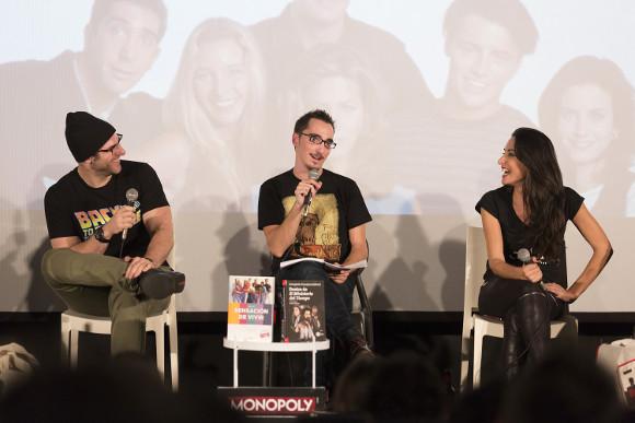 Festival de Series 2015 - Alberto Rey, Álvaro Onieva e Isabel Vázquez
