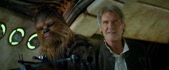 Star Wars VII El despertar de la Fuerza - Chewbacca y Han Solo