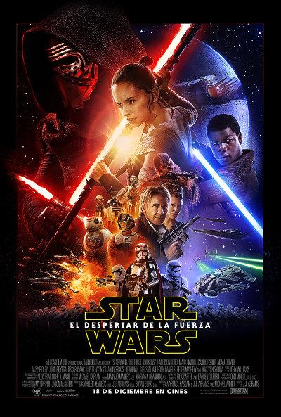 Star Wars Episodio VII: El despertar de la Fuerza - Póster oficial