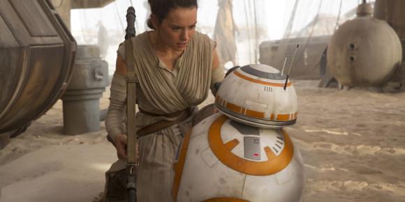 Star Wars VII El despertar de la Fuerza - Rey y BB-8