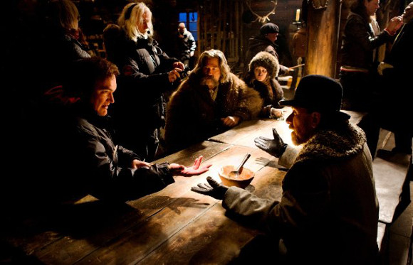 Los odiosos ocho (The Hateful Eight) - Quentin Tarantino, Tim Roth, Kurt Russell y Robert Richardson