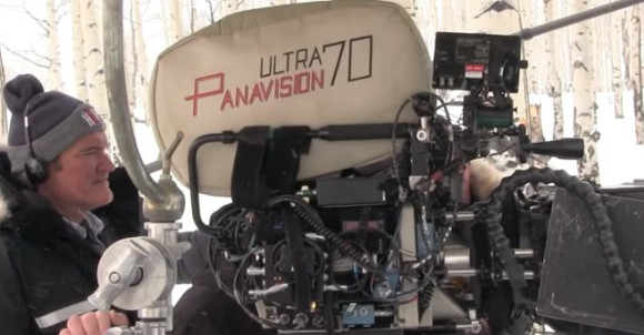 Los odiosos ocho (The Hateful Eight) - Tarantino rodando con Ultra Panavision 70