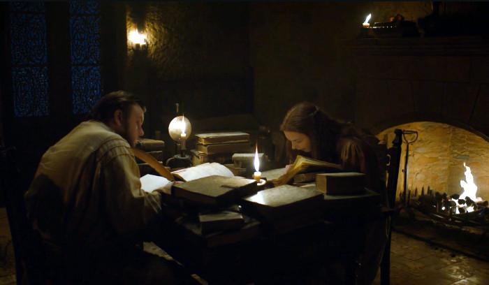 Juego de Tronos T7x05 - Guardiaoriente - Gilly descubre que Jon Nieve es el legítimo heredero al trono