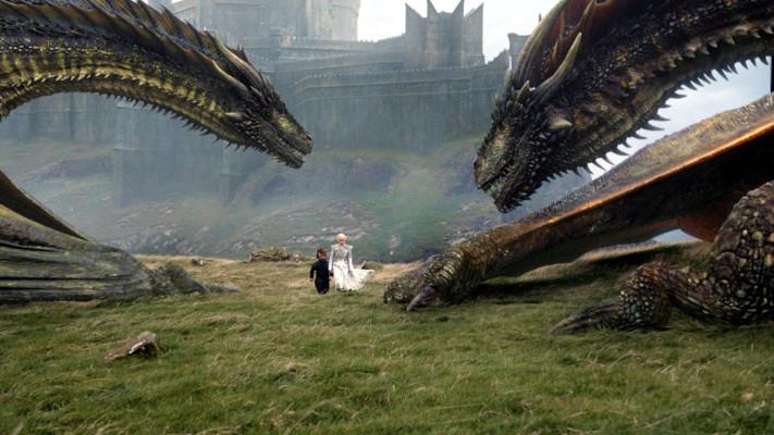 Juego de Tronos T7x06 - Más allá del muro - La Khaleesi al rescate