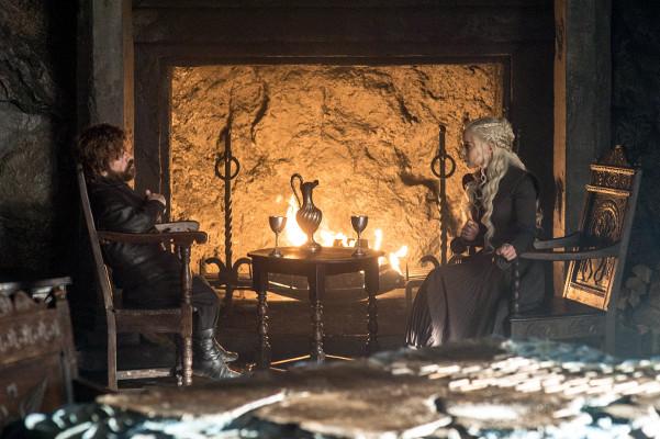 Juego de Tronos T7x06 - Más allá del muro - Tyrion vuelve al vino