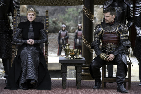 Juego de Tronos T7x07 - El dragón y el lobo - Cersei, Jaime y sus circunstancias