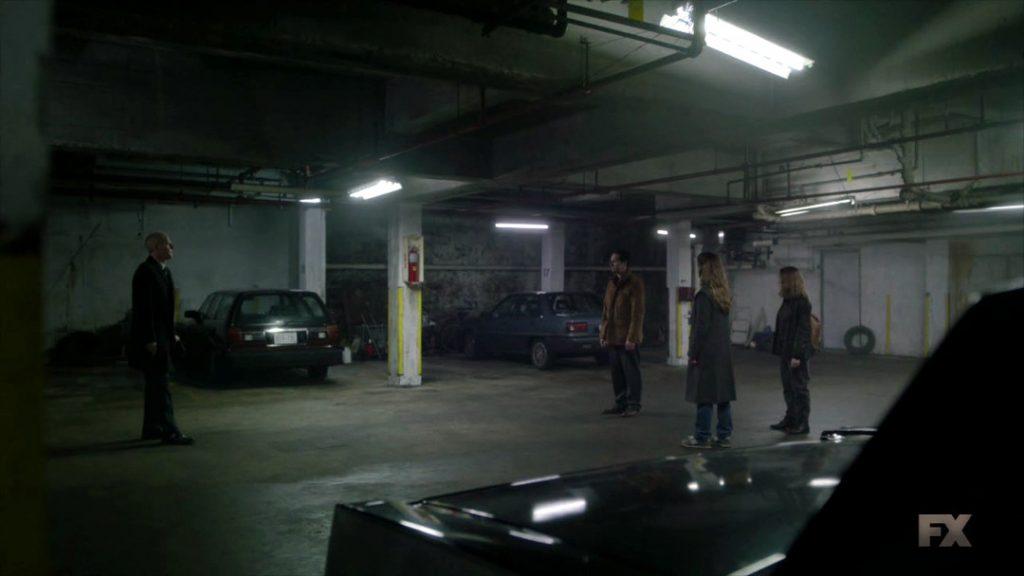 The Americans - El garaje