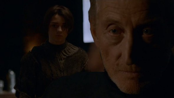Arya Stark y Tywin Lannister