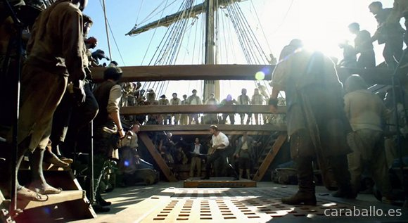 Black Sails. Una de piratas.