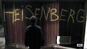 Breaking Bad 5x10. 'Blood Money'. ¿Quién escribirá 'Heisenberg'?