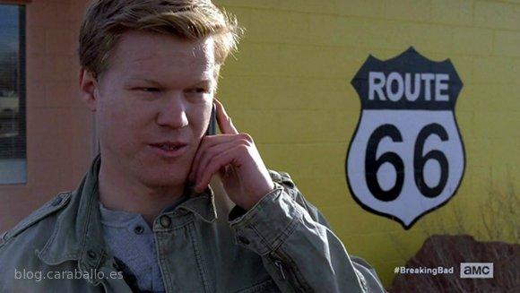 Breaking Bad 5x11. 'Confessions (Confesiones)'. Todd, el bobalicón de gatillo fácil.
