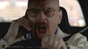 Breaking Bad. 5x13. To'hajiilee. ¡No toques mi dinero!