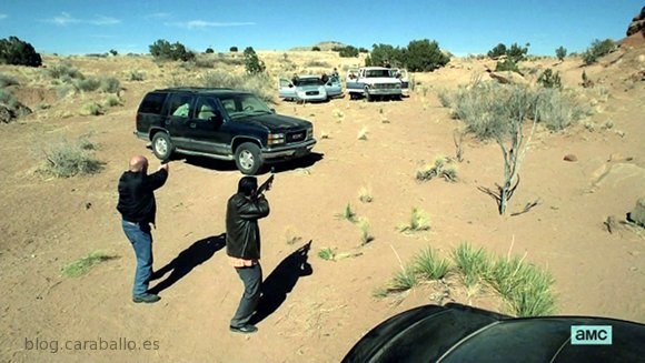Breaking Bad 5x13. To'hajiilee. Duelo al Sol.