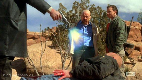 """Breaking Bad 5x14. Ozymandias. Hank: """"Haz lo que tengas que hacer""""."""