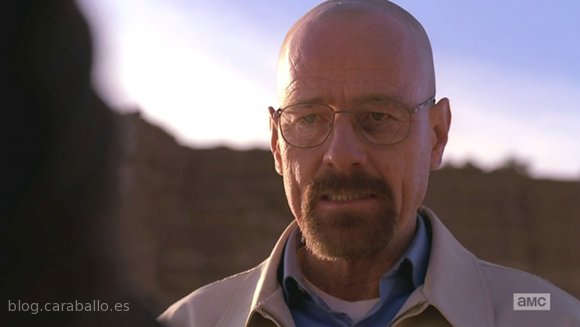 "Breaking Bad 5x14. Ozymandias. Heisenberg: ""Vi morir a Jane""."
