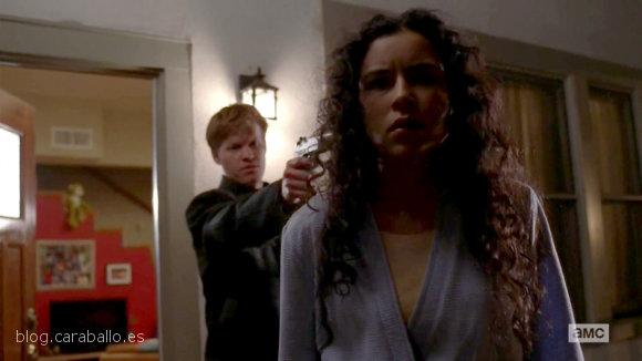 """Breaking Bad 5x15. Granite State. Todd: """"Sólo para que lo sepas, no es algo personal""""."""
