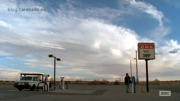 Breaking Bad Finale. Episodio 5x16. Felina. La gasolinera de Canoncito.