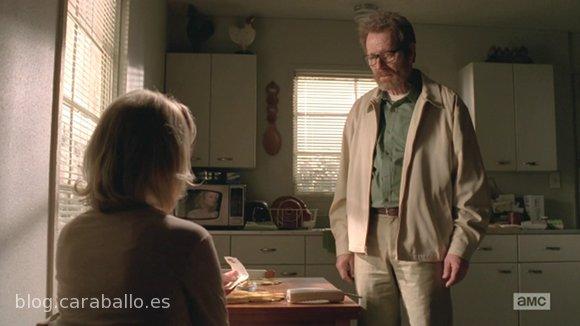Breaking Bad Finale. Episodio 5x16. Felina. Walter se despide de su familia.
