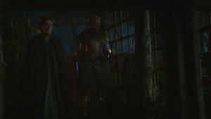 Cat y Brienne junto al Matareyes