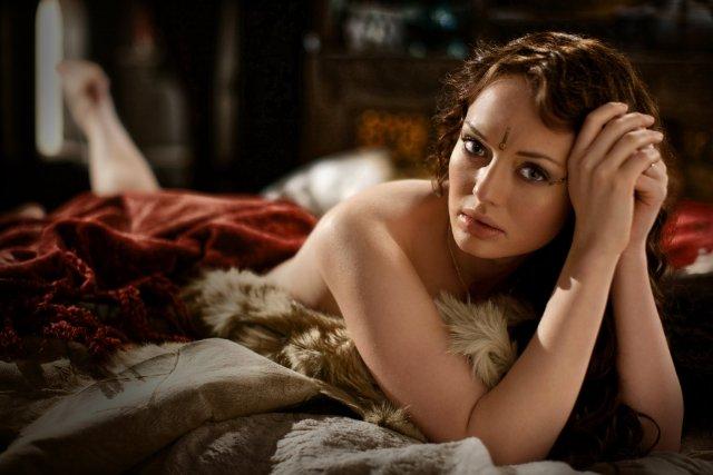Da Vinci's Demons - La hermosa Laura Haddock interpreta a Lucrezia Donati