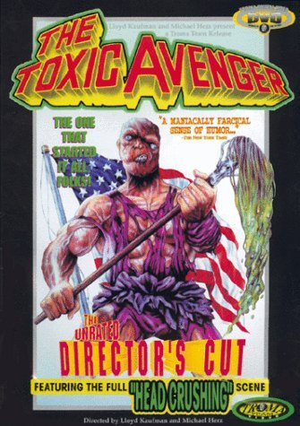 El Vengador Tóxico (1984), una joya de la productora Troma. ¡Ojo a su fregona!