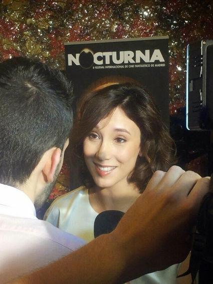Encuentro con Sibel Kekilli en el Festival de Cine Fantástico Nocturna.