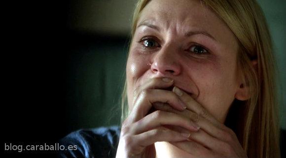 Homeland. Carrie llora por las críticas poco justificadas...