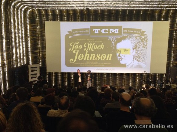 Juan Zavala presenta 'Too Much Johnson' en la Cineteca del Matadero en Madrid