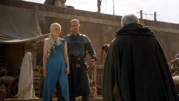 Juego de Tronos: 'Valar Dohaeris'. Daenerys, Jorah y Barristan Selmy